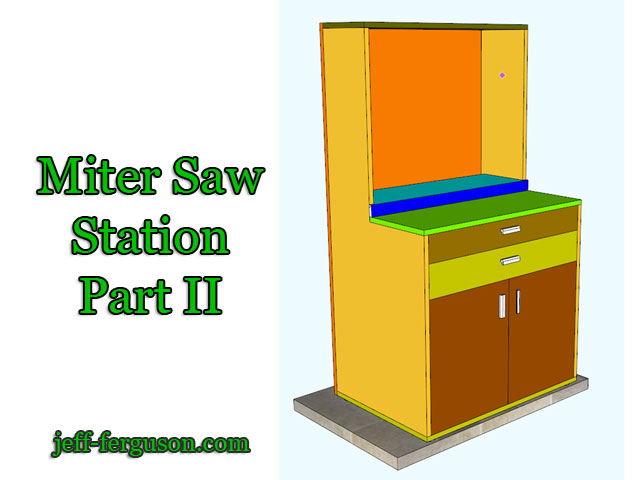 Miter Saw Station –  Part 2