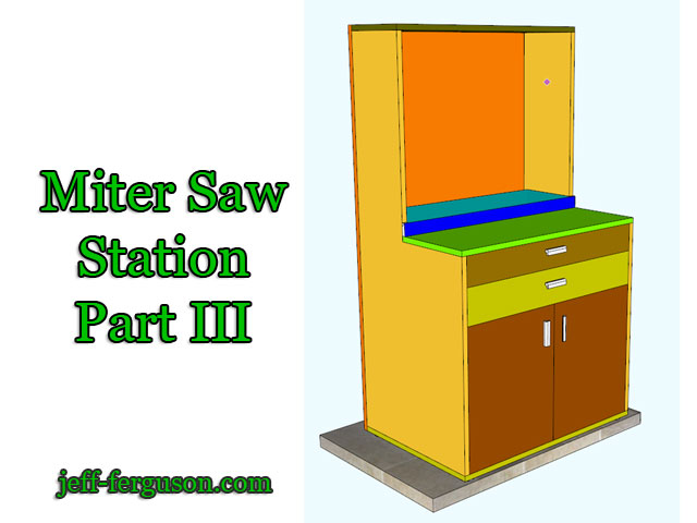Miter Saw Station – Part 3