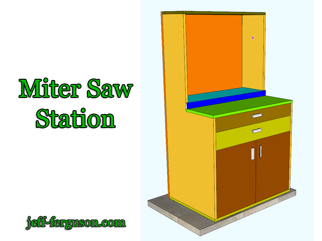 Miter Saw Station –  Part 1