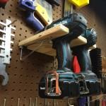 Pegboard Drill Holder