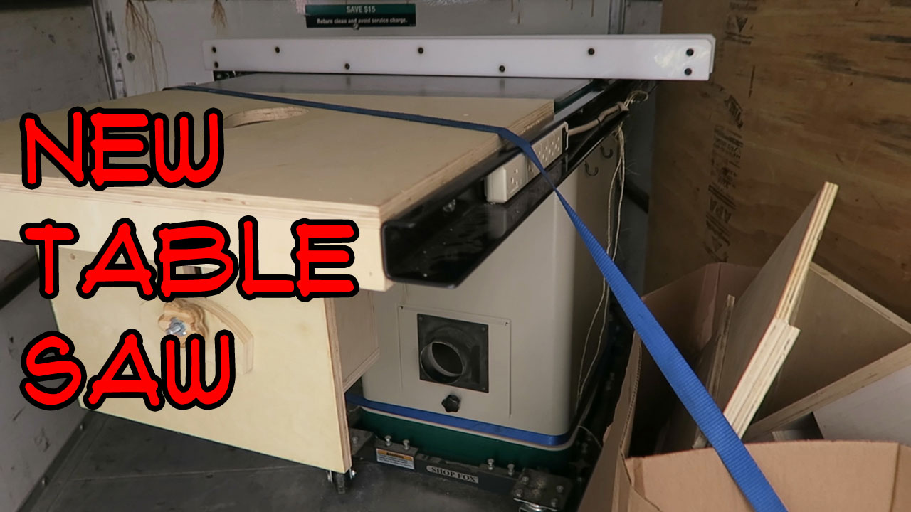 New Table Saw (video)