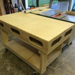 Torsion Box Outfeed and Assembly Table
